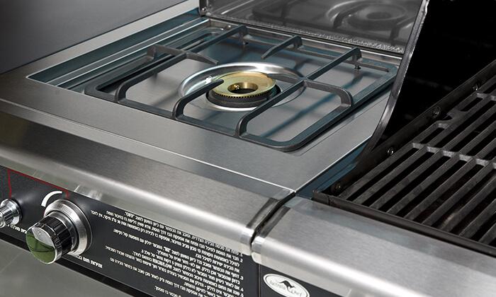 5 גריל גז בעל מבער אחורי Australia Chef כולל גריל מורכב