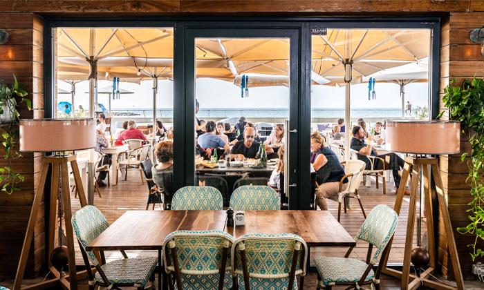 8 מסעדת יוליה YULIA, נמל תל אביב