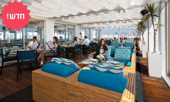 3 מסעדת Ciela Rooftop Lounge מלון אלכסנדר, תל אביב