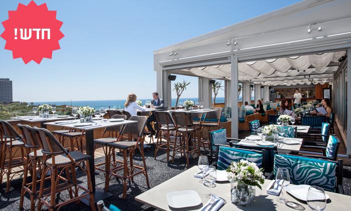 7 מסעדת Ciela Rooftop Lounge מלון אלכסנדר, תל אביב