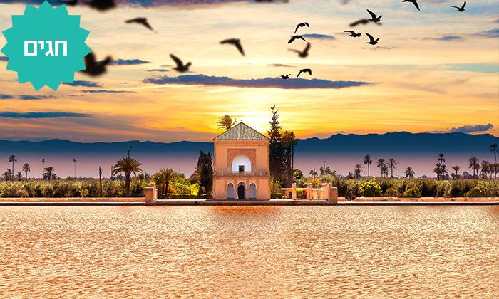 3 קיץ וחגים במרוקו - טיול מאורגן