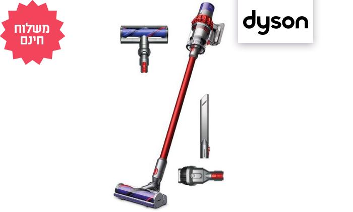 2 שואב אבק אלחוטי דייסון Dyson V10 Motorhead, משלוח חינם
