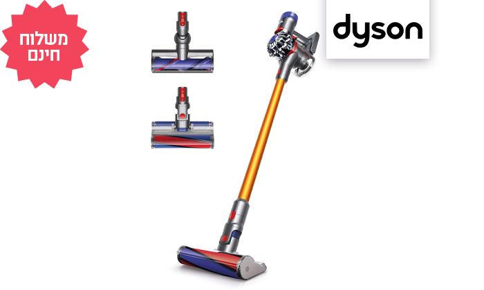 2 שואב אבק נטען Dyson V8 Absolute, משלוח חינם