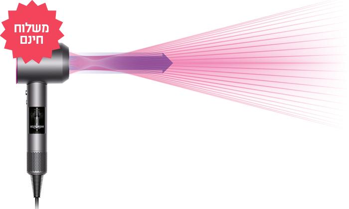 3 מייבש שיער דייסון Dyson Supersonic, משלוח חינם