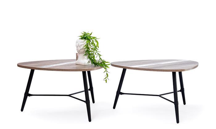 2 שולחן קפה בעיצוב טיפה