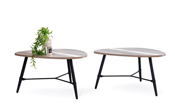 3 שולחן קפה בעיצוב טיפה