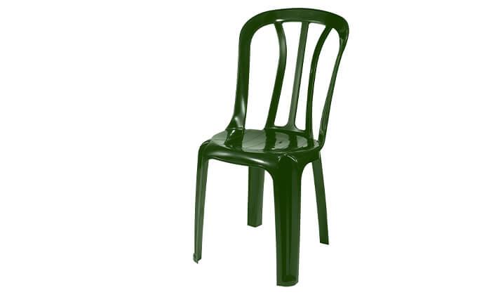 3 שישיית כיסאות פלסטיק של כתר