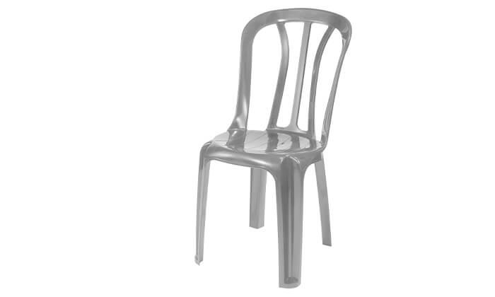 4 שישיית כיסאות פלסטיק של כתר