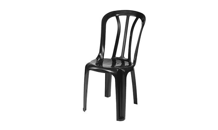 5 שישיית כיסאות פלסטיק של כתר