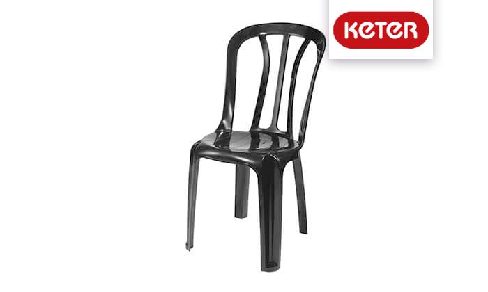 2 שישיית כיסאות פלסטיק של כתר