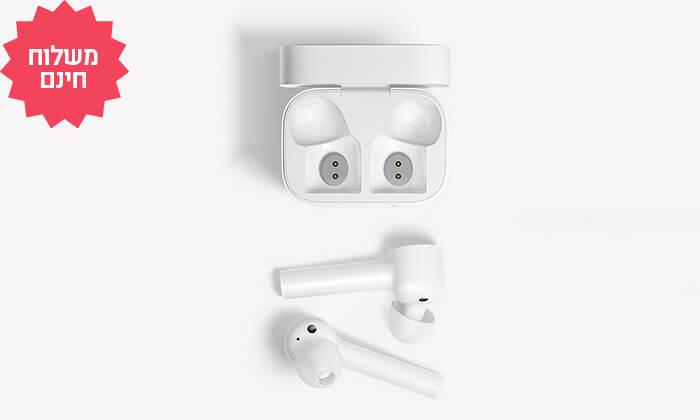 3 אוזניות Bluetooth אלחוטיות Xiaomi, משלוח חינם