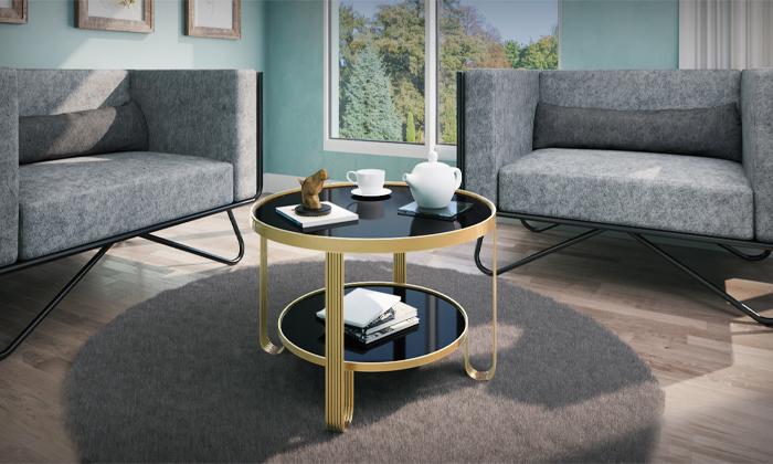 4 שולחן עגול לסלון RAZCO