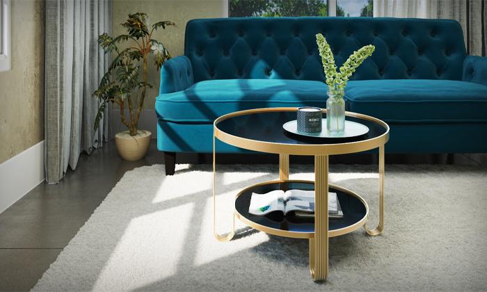 2 שולחן עגול לסלון RAZCO