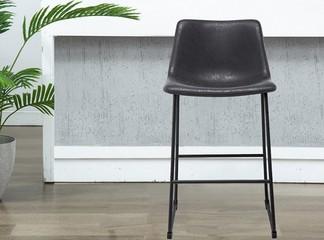 כיסא בר מרופד דגם8001