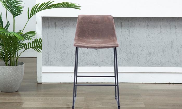 3 כיסא בר מרופד Take It