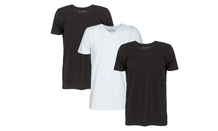 5 מארז 3 חולצות טי שירט לגברים Mr. Right