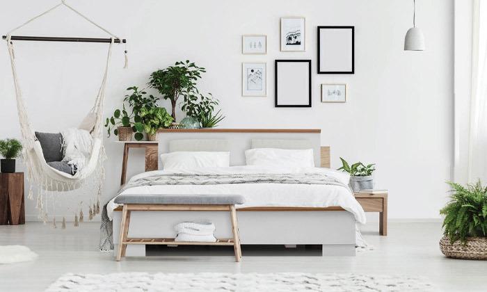 5 מיטה עם מזרן אולימפיה