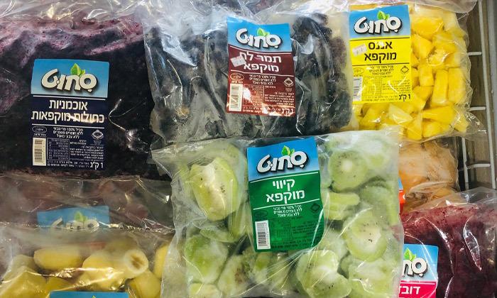 2 הנחה להזמנת משלוח מאתר סחוט - פירות קפואים ומגוון תוספות כדי להכין את השייק המושלם