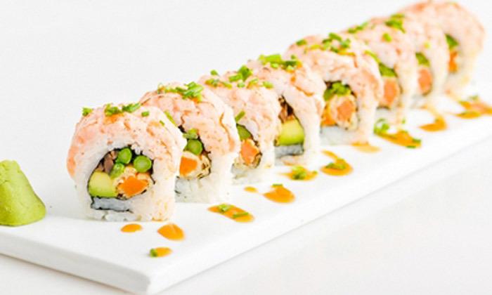4 מגש סושי במשלוח או טייק אוויי ממסעדת יוקו סושי בתל אביב