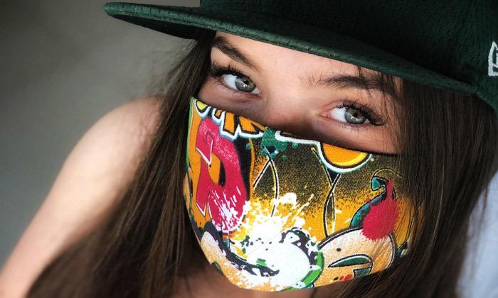 15 מסכת פנים מעוצבת מבד