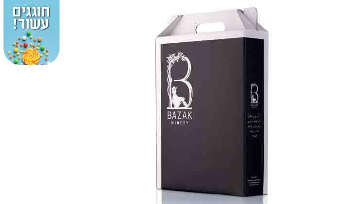 6 מארז יינות כשרים מ-Bazak Winery