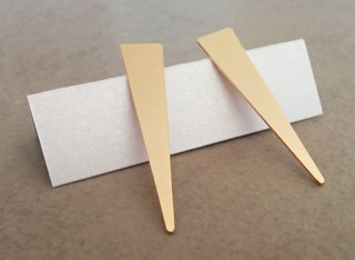 עגילי משולש ארוך