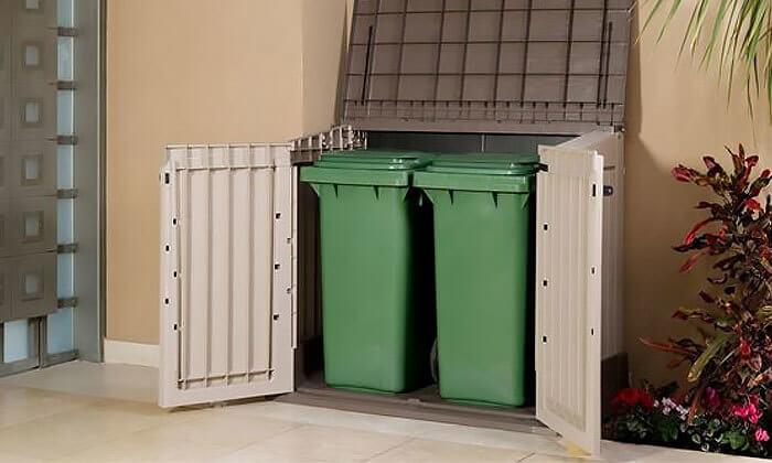5 מחסן פלסטיק של כתר