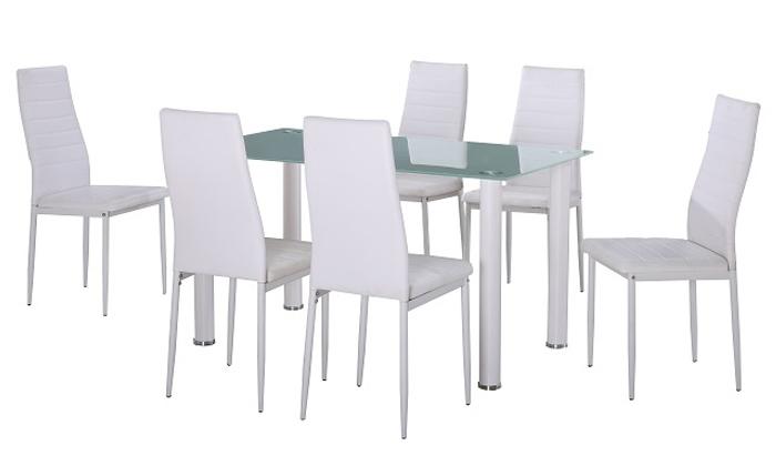 4 פינת אוכל עם 6 כיסאות  Take It