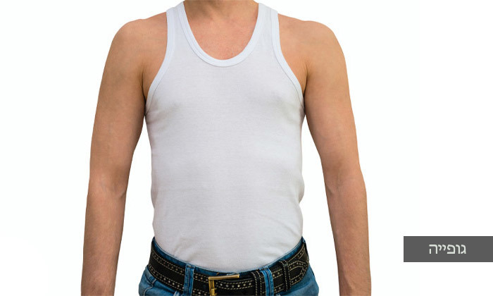 4 מארז 4 חולצות טי-שירט לגברים Delta