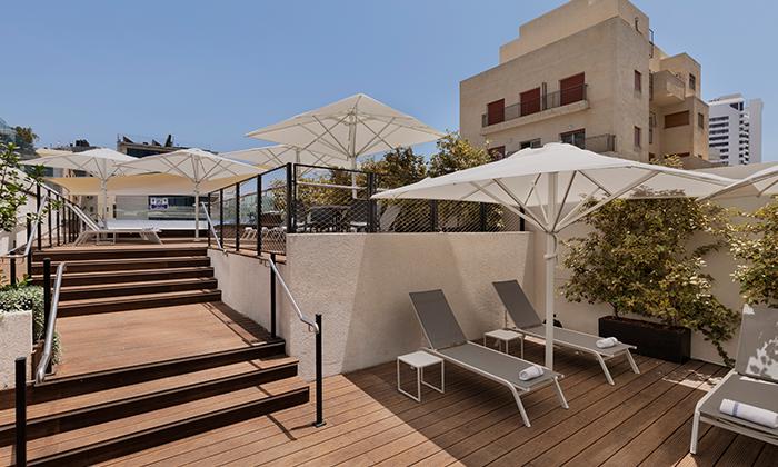 """2 חופשה זוגית במלון מטרופוליטן תל אביב, כולל סופ""""ש ושבועות"""
