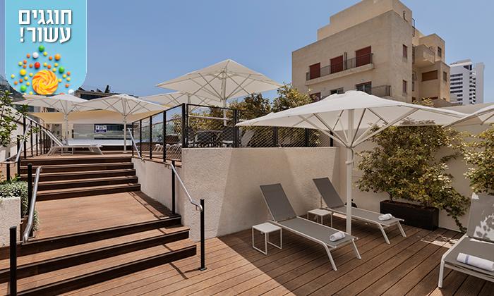 """8 חופשה זוגית במלון מטרופוליטן תל אביב, כולל סופ""""ש"""