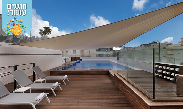 """2 חופשה זוגית במלון מטרופוליטן תל אביב, כולל סופ""""ש"""
