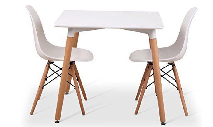 2 שולחן אוכל מרובע Take It