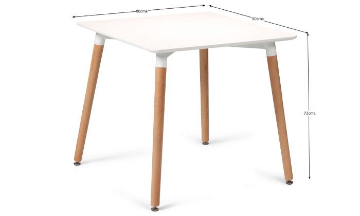 3 שולחן אוכל מרובע Take It