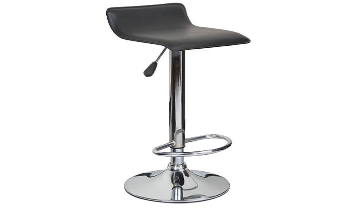 2 כיסא בר בריפוד דמוי עור Take It