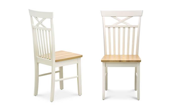 3 4 כיסאות לפינת האוכל של שמרת הזורע