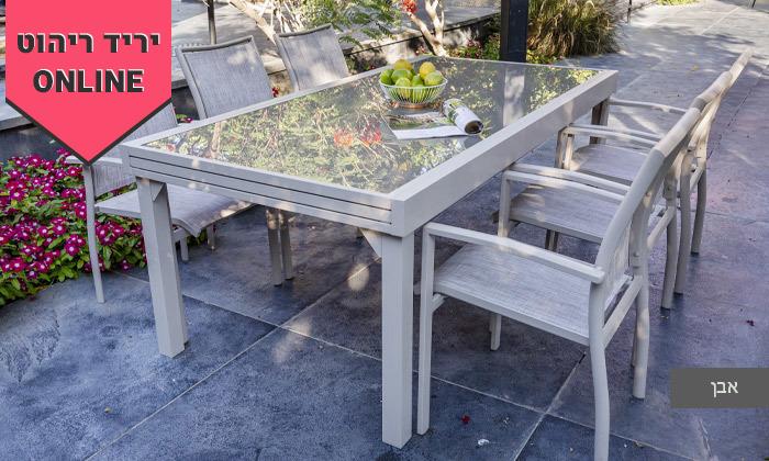 4 שולחן נפתח עם 4/6/8 כיסאות לחצר של  SCAB