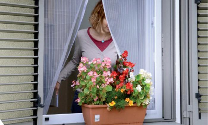2 רשת נגד יתושים לחלונות הבית