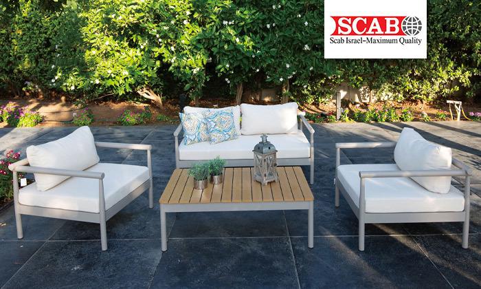 2 פינת ישיבה לגינה SCAB דגם Monet
