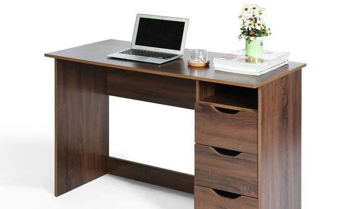 7 שולחן מחשב עם מגירות