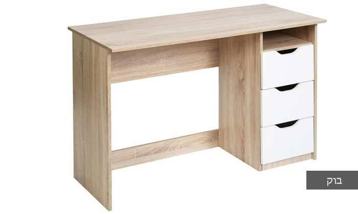 4 שולחן מחשב עם מגירות
