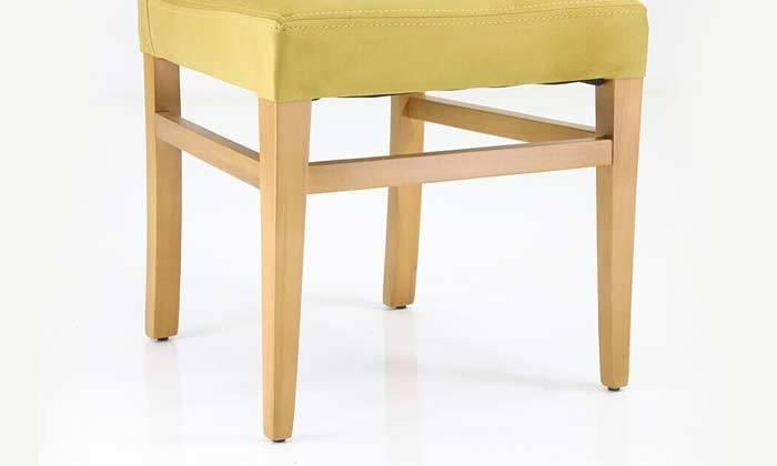 4  4 כיסאות אוכל מרופדים של שמרת הזורע
