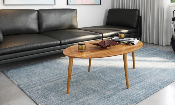 10 שולחן סלון אובלי