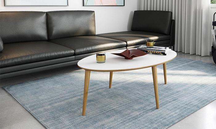 7 שולחן סלון אובלי