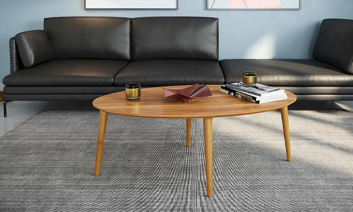 3 שולחן סלון אובלי
