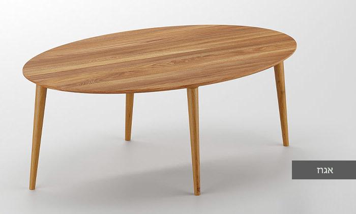 6 שולחן סלון אובלי