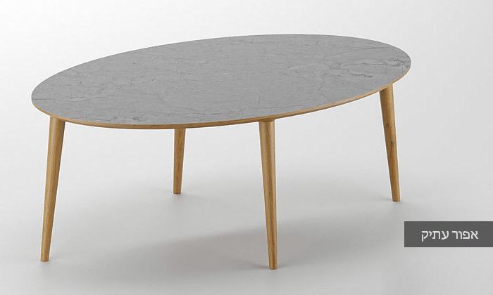 5 שולחן סלון אובלי