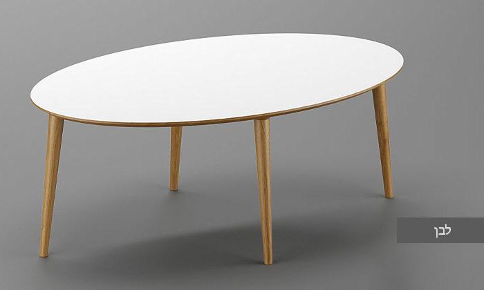4 שולחן סלון אובלי