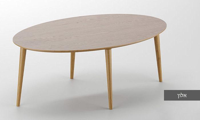 9 שולחן סלון אובלי