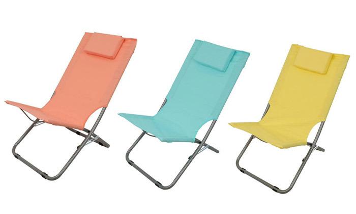 2 כיסא ים מתקפל